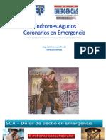 Síndromes Agudos Coronarios en Emergencia Xxxxxxxx