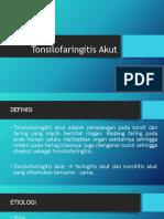 Tonsilofaringitis Akut Preskas