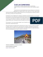 Importancia de Las Carreteras