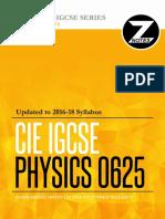 Cie Igcse Physics 0625 Znotes