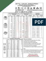 MCI Price list 2017