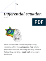 Differential Equation - Wikipedia