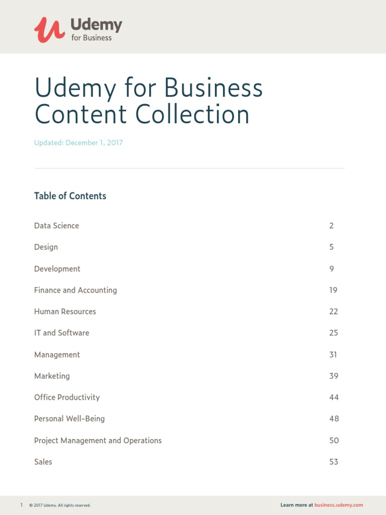 Ude My for Business Course List | R (Programming Language