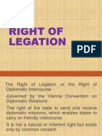 Right of Legation