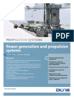 Power Generation and Propulsion Systems
