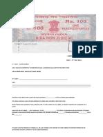 Compay Deposit file