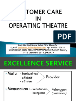 New Customer Care in Operating Theatre 2014