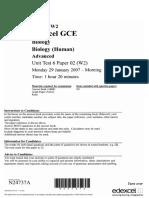 6106-02 - 2007-01 - Question Paper