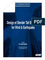 Design of Slender Tall Buildings for Wind and Earthquake (1)