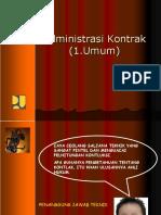 Kimron Manik - Administrasi Kontrak 01