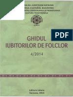 Muzica CCPCT Ghidul Iubitorilor de Folclor 4 2014