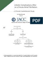 Cardioversion acute af