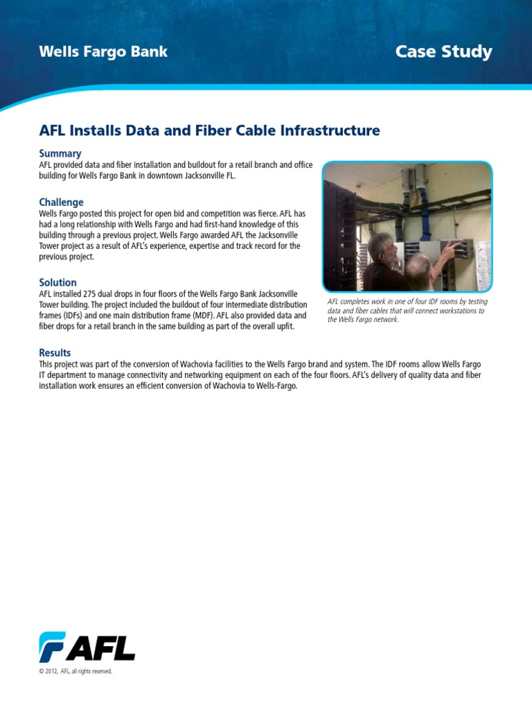 AFL-Case-Study-Data-Fiber-Install-Wells-Fargo-Jacksonville pdf