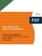 Sun Cluster Solaris Containers