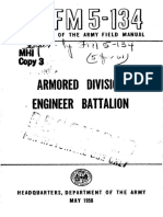 FM5-134 Armored Division Engineer Battalion