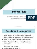 ISO 9001:2015 Presentation
