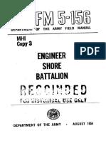 FM5-156 Engineer Shore Battalion 1954