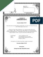 Contoh Surat Undangan Rapat Panitia Pernikahan