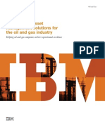 IBM Maximo Asset Management solutions for the oil and gas industry