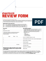 ACCA Administrative Review Form