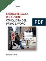 Emergere dalla Recessione