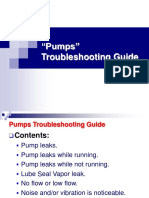 Pump Troubleshooting Guide