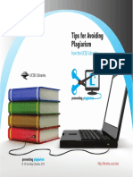 Tips for Avoiding Plagiarism 2010