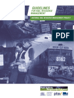 Guideline Rail Resource Management 2007