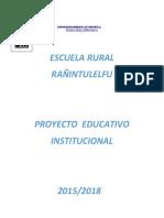 ProyectoEducativo institucional