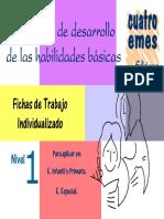 Fichas Para El Desarrollo de Habilidades Basicas