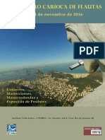 1 Encontro Carioca Flautas Programacao 2016