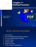 Chapter 11-Metal Casting Processes