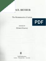 The Hermeneutics of Actions
