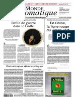 Le Monde Diplomatique 2017 07