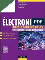 Electronique Tout Le Cours en Fiche 2015