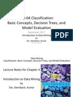 DM-04 Basic Classification