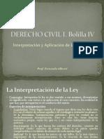 Derecho Civil i Bolilla IV
