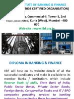 Diploma in Banking