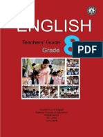 Grade 8 teacher guide for English