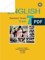 Grade 7 Teacher Guide for English