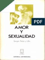 Amor y Sexualidad - Sergio Peña y Lillo