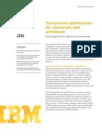IBM Oil| Turnaround Management Solutions