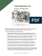 ACRU Jim Crow Summary
