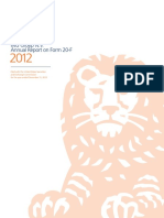 2012 Annual Report on Form 20-F ING Groep N.V.