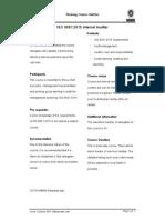 ISO 9001 2015 Internal Auditor (E) 2 Day