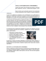 Consecuencias de La Contaminacion Atmosferica