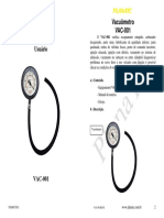 Manual Instrucciones Vacuometro Probador Presion Cp7803