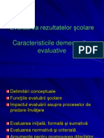 13.Evaluarea Rezultatelor Scolare