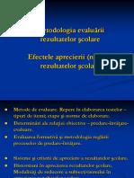 14. Metodologia evaluarii
