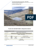 3.- Plan de Monitoreo Arqueologico